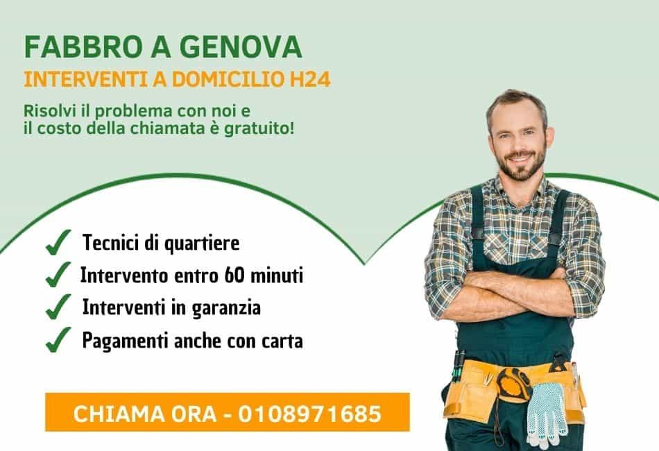 Fabbro Genova - Pronto Intervento h24